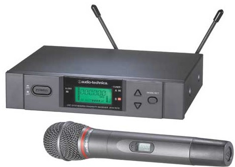 ATW3141A UHF Handheld Wireless System