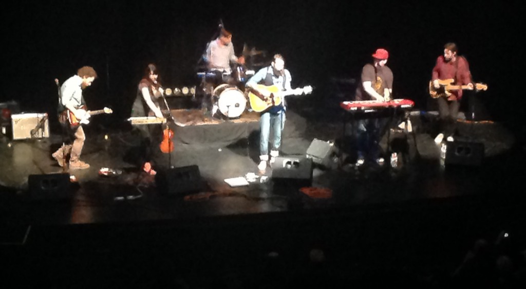 The Strumbellas at the Academy (1)