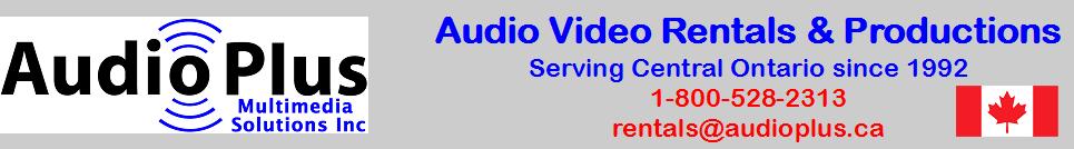 Audio Video Rentals